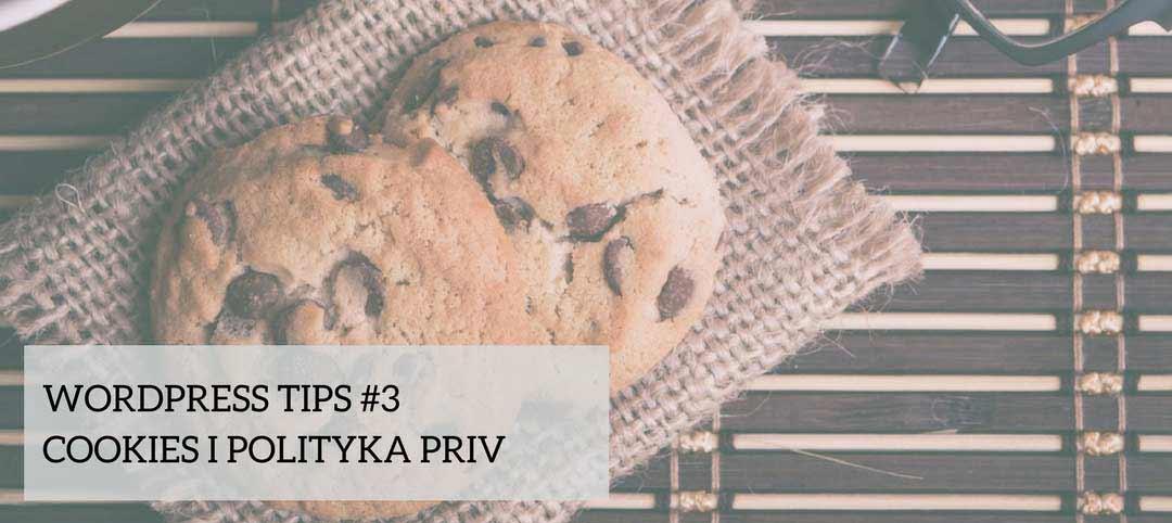 WordPress Tips #3 – cookies i polityka prywatności