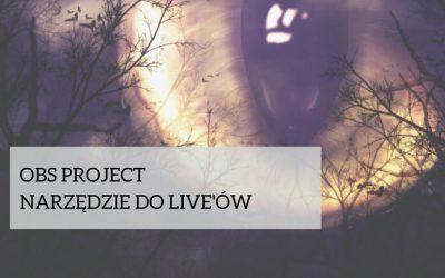 OBS Project, narzędzie do live'ów