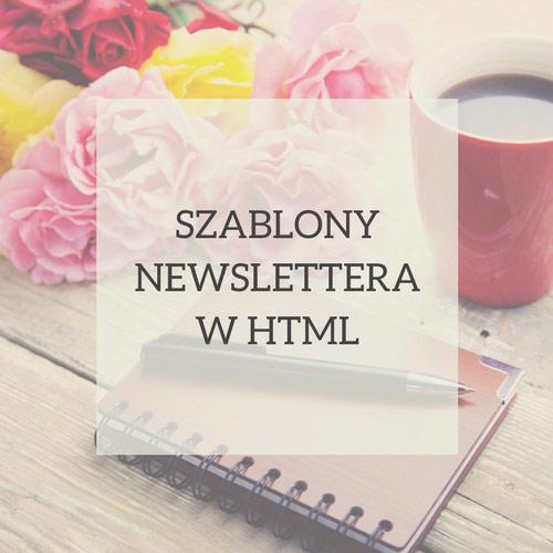szablony newslettera w html
