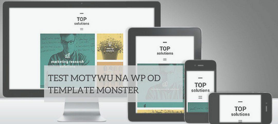 Test motywu dla WordPressa