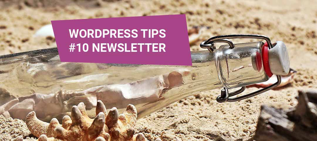 WordPress Tips #10 – wtyczka do newslettera
