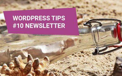 WordPress Tips #10 – wtyczka do newslettera